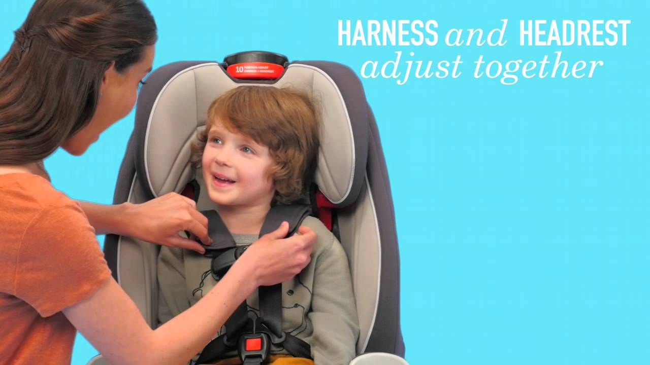 Gracos Atlas 65 2 In 1 Harness Booster Is Designed To Grow With Your Child