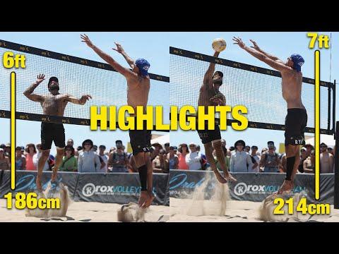 McKibbin/McKibbin vs Doherty/Evans AVP Manhattan Beach Open 2019 Beach Volleyball Highlights