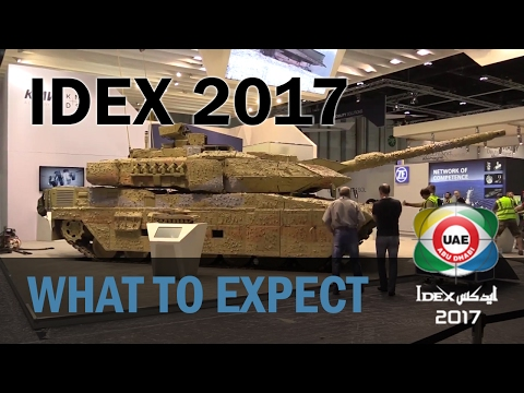 What to expect at IDEX 2017 in Abu Dhabi
