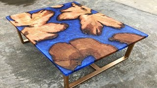 10 Most Beautiful Epoxy Resin and River Tables Ever ! Woodworking DIY Projects