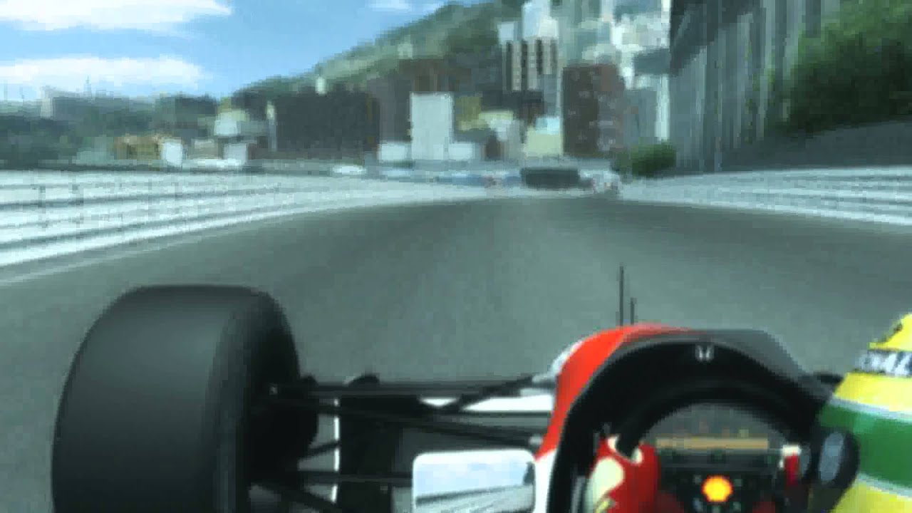 Rfactor Real Cam Effects Senna Onboard At Monaco Youtube
