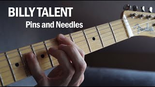 Billy Talent - Pins and Needles (Guitar Cover)