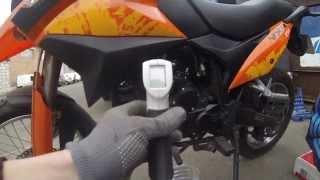 TO-1 Мотоцикла  Viper V250VXR Irbis XR250  №2(Первое ТО китайского мотоцикла , модель Viper V250VXRIrbis XR250 . В этой серии ,мы проведем ТО-1 ,недавно приобретенном..., 2014-05-06T12:59:34.000Z)