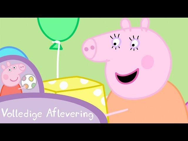 Peppa Pig Nederlands Compilatie Nieuwe Afleveringen | Mama Big's verjaardag | Tekenfilm
