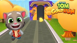Talking Tom Gold Run Android Gameplay - Frosty Tom 2018