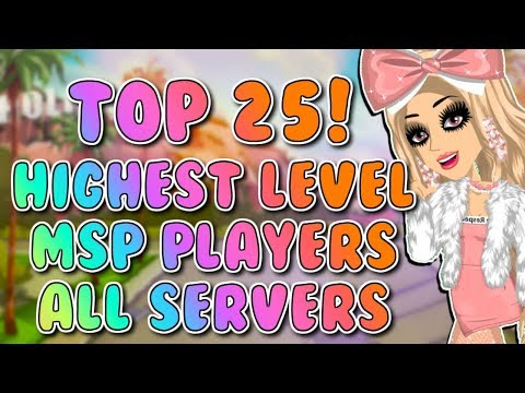 Highest Level MSP Players Across All Servers! 2018