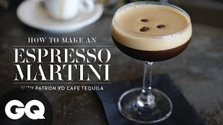 How To Make An Espresso Martini With Patron XO Tequila | Cocktail | GQ