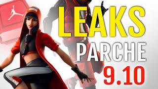 LEAKS PARCHE 9.1: SKINS ET NEW FORTNITE COSMETICS