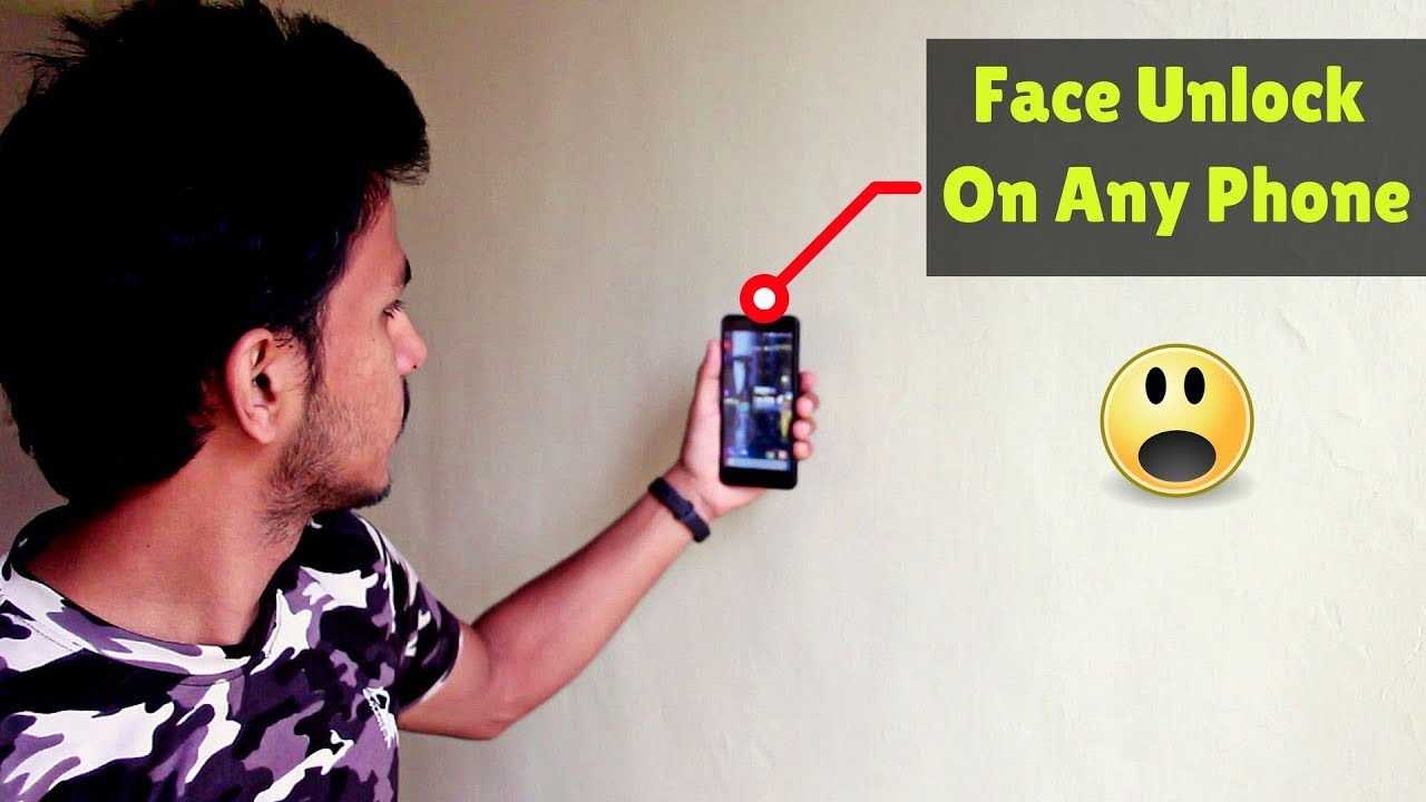 How to Add Face Unlock Feature On Any Android Device ft  Redmi Note 4 |  Unlock Phone With Your Face
