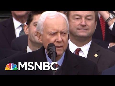 Senator Orrin Hatch Thanks Newspaper For Blasting His Integrity | Morning Joe | MSNBC