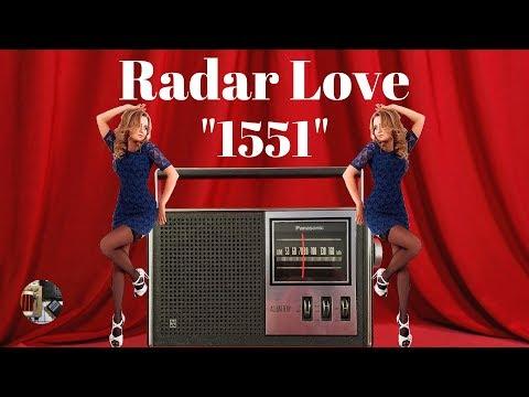 Radar Love! Panasonic R-1551 AM Portable Radio Review