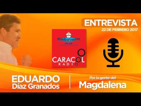 Entrevista Caracol Radio Santa Marta - 22 de febrero de 2016