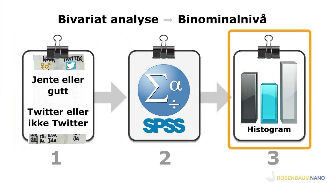 [3] Bivariat analyse - Binomenalnivå - Deskriptiv statistikk