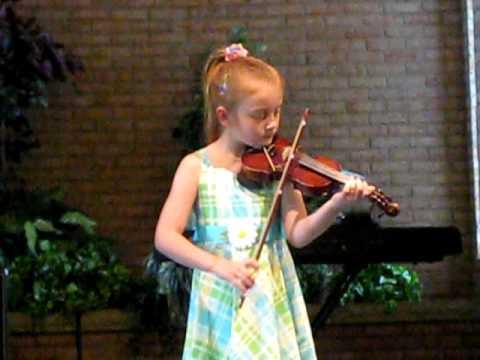 Emma Lee Dorman May 1 Lakewood Suzuki Strings reci...