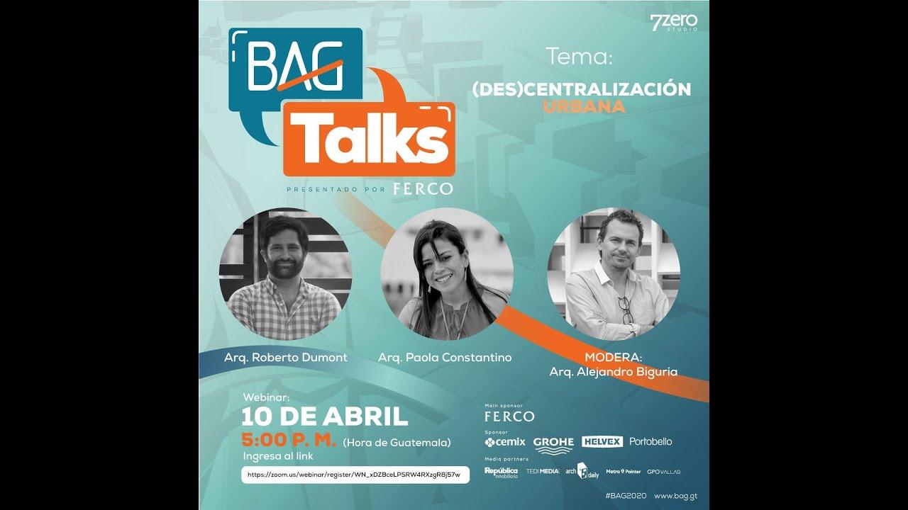 #BAGtalks - Episodio#3 - Roberto Dumont & Paola Constantino