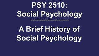 Social Psychology - Psychology In Hindi