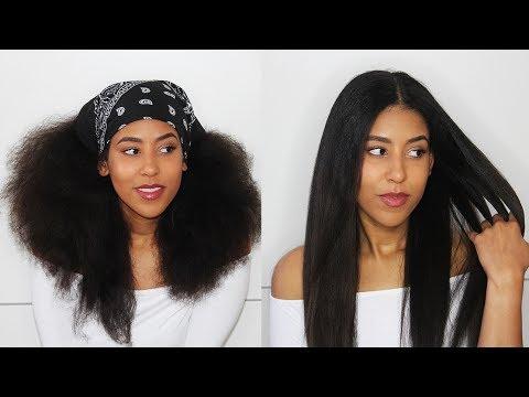Beste Methode Um Afrohaare Locken Zu Glätten 1 Woche Glatte