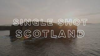 Single Shot Scotland - Staffa at Sunset - Stafaband