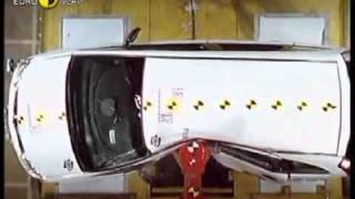 Краш тест Opel Meriva 2003 (E-NCAP)