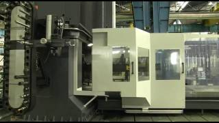 machining of a bogie with a correa fp milling machine