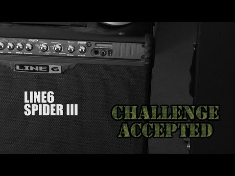 Good metal tone with a LINE6 SPIDER III???!?!!?!?! - CHALLENGE ACCEPTED