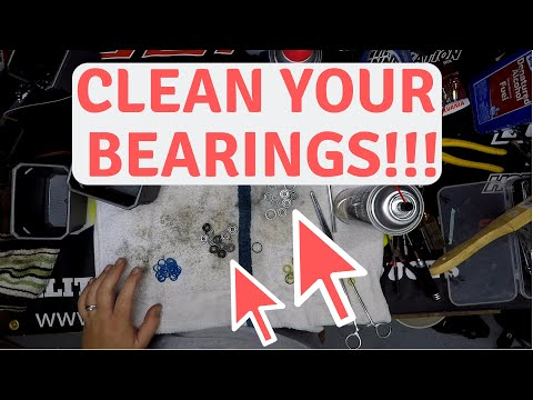 How to clean and regrease bearings to prevent failure