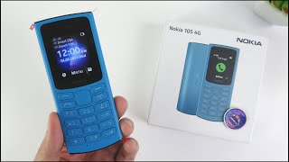 Nokia 105 4G Unboxing   Hands-On, Design, Unbox, Test Game