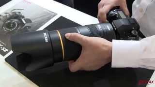 HD Pentax D FA 70-200mm Demo at CP+