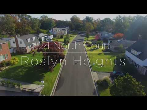 124 North Court  |  Roslyn Heights, NY  |  Aerial Tour