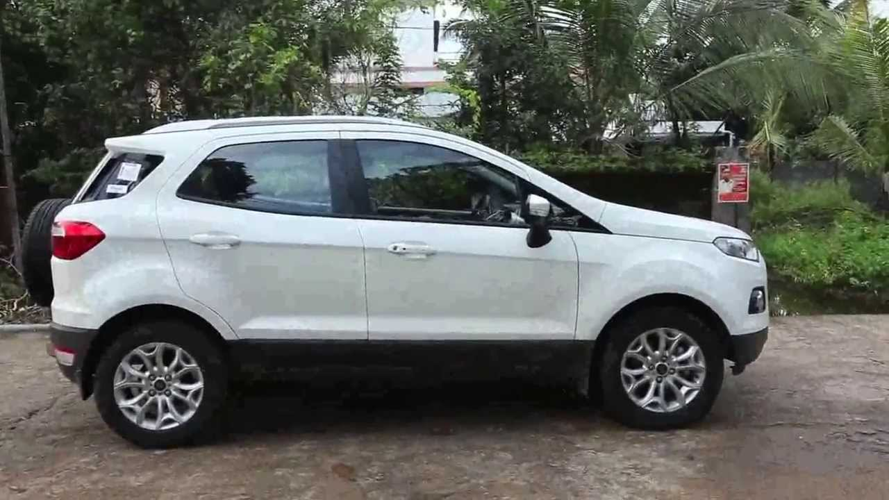 Ford Ecosport Titanium Interior And Engine Mpeg