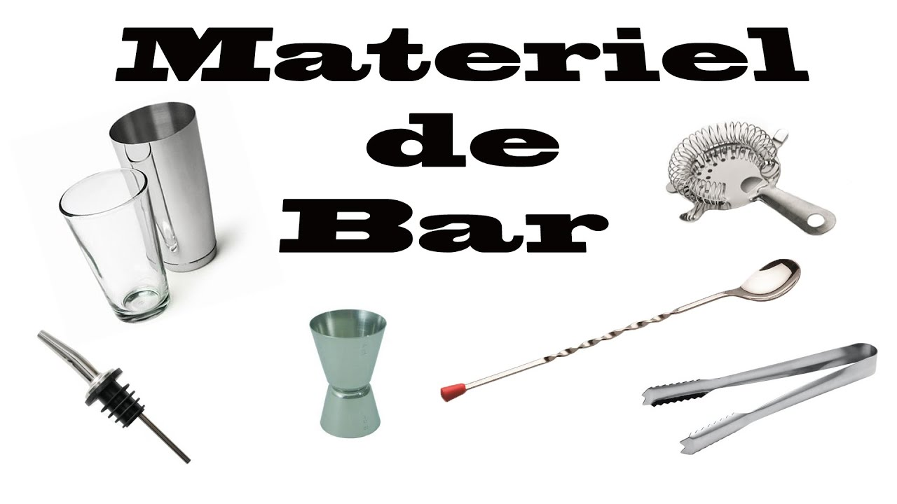 tuto cocktail le mat riel de bar youtube. Black Bedroom Furniture Sets. Home Design Ideas