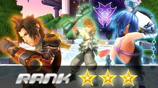 Guide to all of the Unversed Battle Missions - Rank ★★★ [Terra, Ventus, Aqua] BbS FINAL MIX