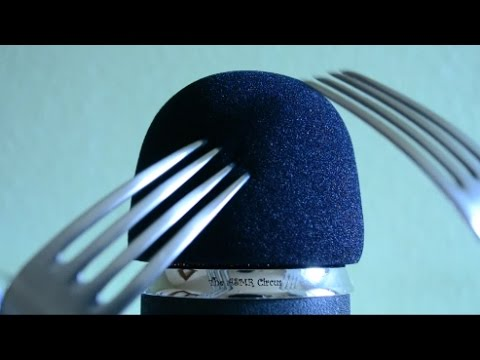 ASMR Forks Scratching Your Ears Again . Your Ultimate Silverware Sleep Aid. No Talking