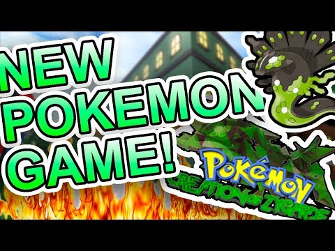 NEW POKEMON GAME IN ROBLOX?!?!? WHAT!!!  Pokemon Creation of Zygarde
