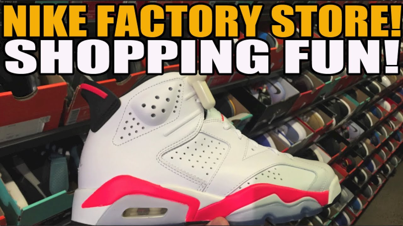86c828b0dea0 Nike Factory Store Deals  AJ6 Infrared ! (June 2015) - YouTube