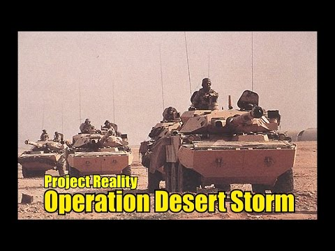 Project Reality 1.3 - Operation Desert Storm(M2 Bradley)