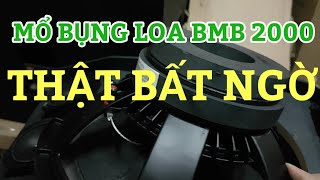 MỔ BỤNG LOA BASS 30  BMB CSX 2000 SE RẺ VÀ CHẤT.