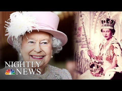 Queen Elizabeth Speaks About The Downsides Of The Heavy Crown | NBC Nightly News