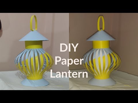 DIY Paper Lantern Making | Akash Kandil making for Diwali | home Decor