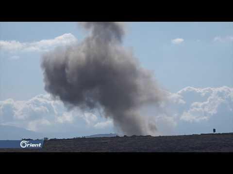 مقتل امرأة وطفل وإصابة أكثر من 20 مدنيا بكفرنبل جنوب إدلب - سوريا  - 21:53-2019 / 5 / 10