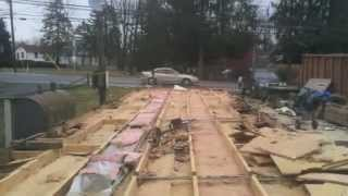 Mobile Home Demolition Full Time Lapse By Demo By Dustin