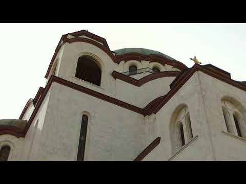 Hram Svetog Save;  Cathedral of Saint Sava HD