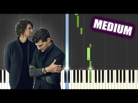 Shoulders - for KING & COUNTRY | MEDIUM PIANO TUTORIAL by Betacustic