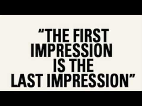 First impression (psychology)
