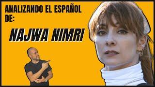 Analizando el español de NAJWA NIMRI 🤯 - Famosos hablando español