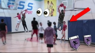 KRISTOPHER LONDON DUNKS ON LAMELO BALL?! LSK vs Lamelo Ball