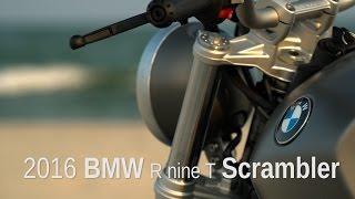 2016 BMW R nineT Scrambler Review