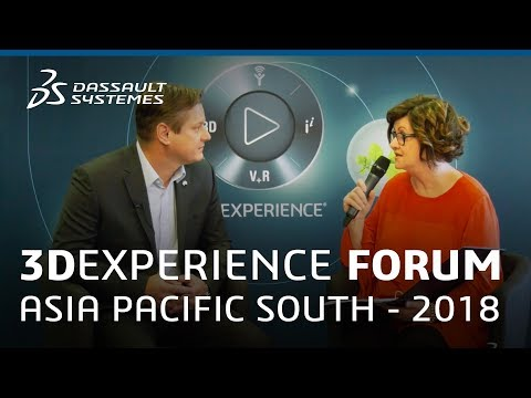 3DEXPERIENCE Forum Asia Pacific South 2018 - Interview with Richard Boiwko - Dassault Systèmes