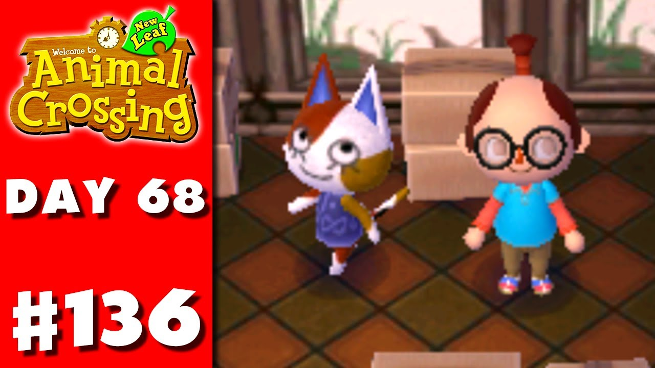 Animal Crossing: New Leaf - Part 136 - Purrl (Nintendo 3DS ...