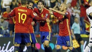 España, clasificada al Mundial de Rusia